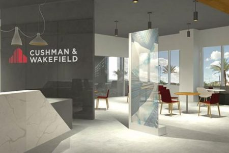 Cushman & Wakefield Office Rendering