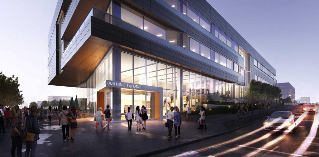 Discovery Square Building 1 Rendering