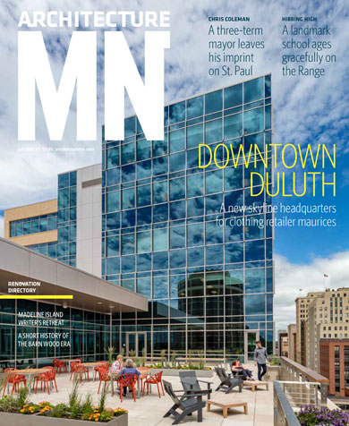 Architecture MN Magazine Cover, Jul/Aug 2017