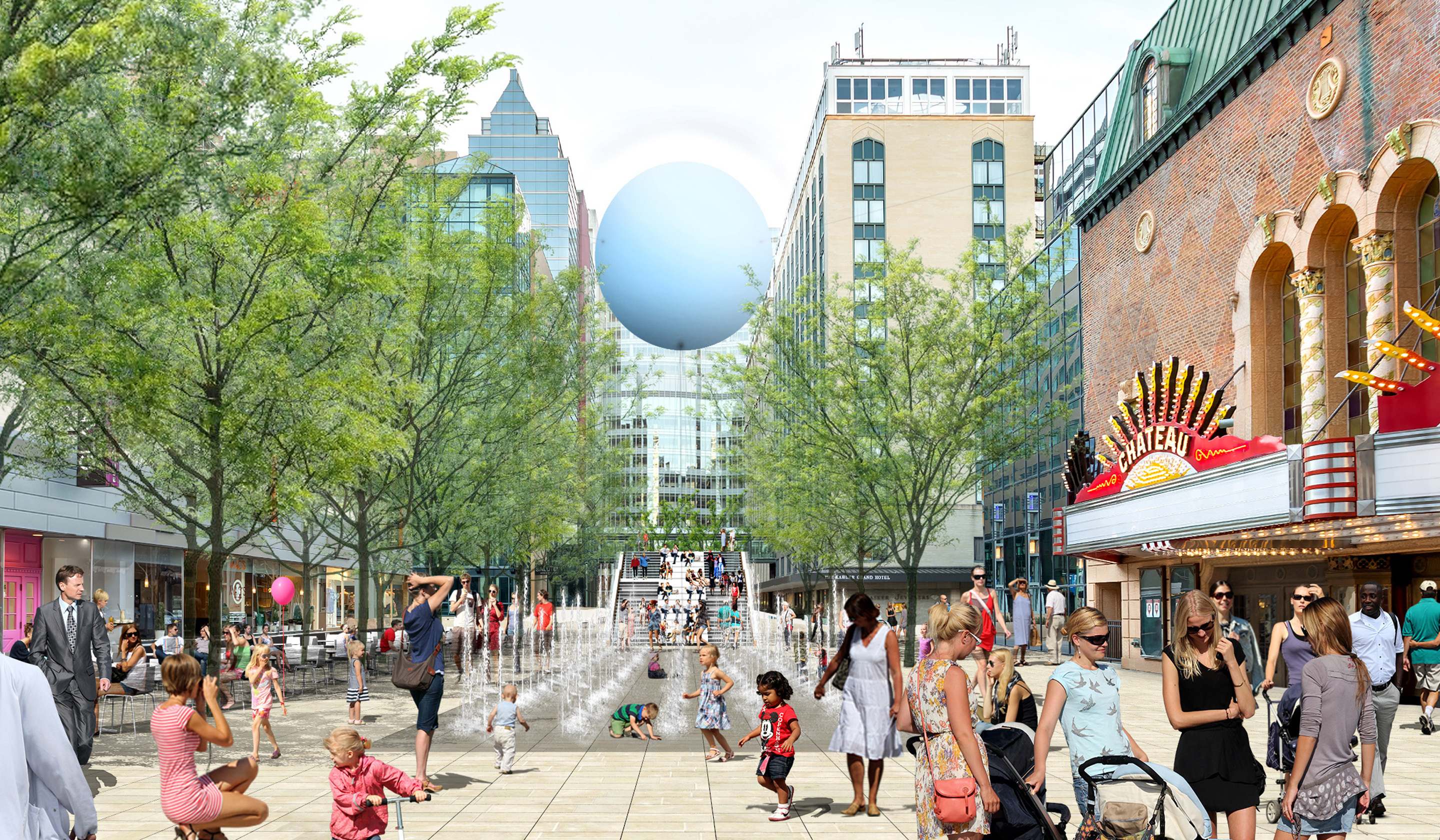 heart of the city public space design