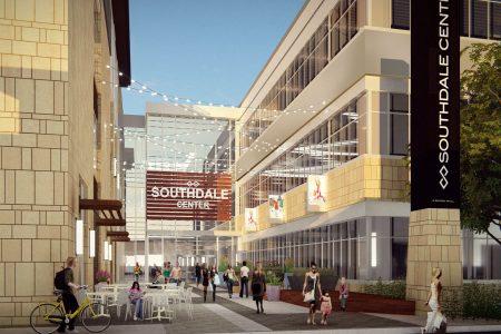 Southdale Redevelopment - Winter Garden Perspective